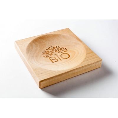 Rada wooden cash plate