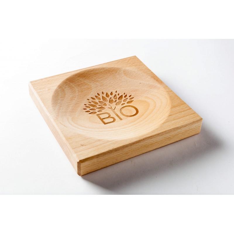 Wooden cash plate Rada