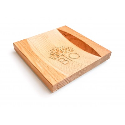 Wisselgeldhouder Classic, hout